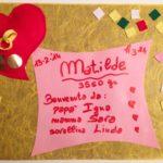 Matilde nata il 13 febbraio